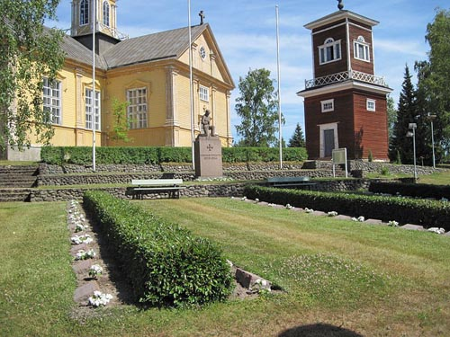 Finse Oorlogsgraven Ahlainen