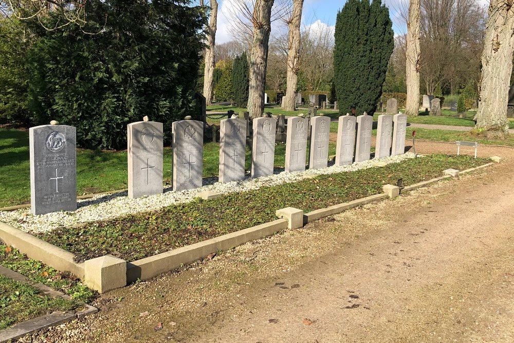 Commonwealth War Graves Oosterbegraafplaats Enschede
