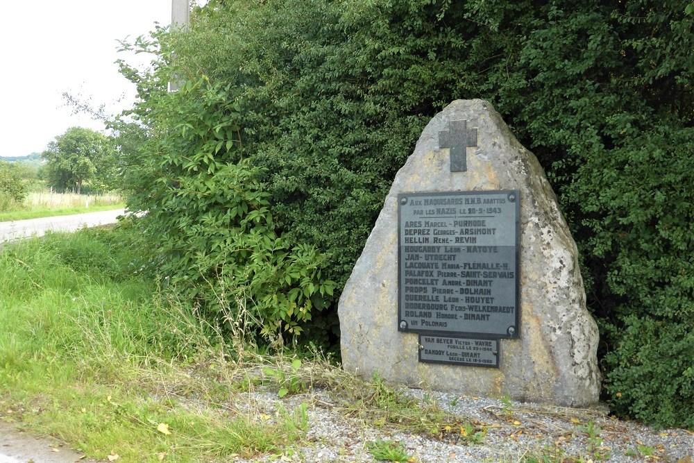 Execution Memorial Mont-Gauthier