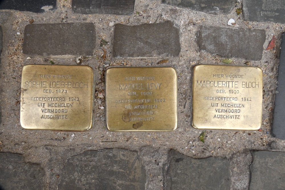 Stolpersteine Veldstraat Gent