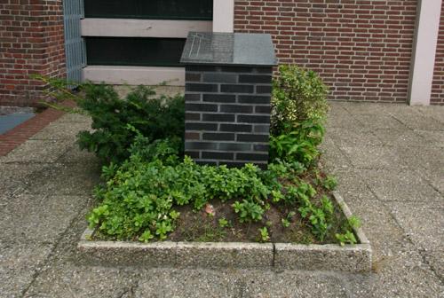Monument 'Sporen die bleven' Leunen