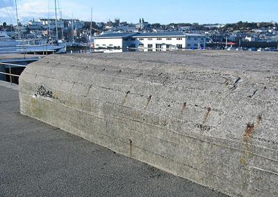 Atlantikwall - Widerstandsnest (W.N) Modellhafen