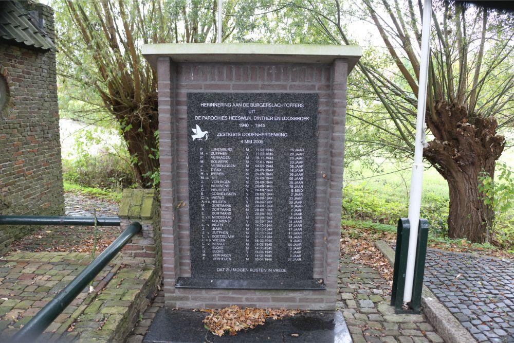 War Memorial Heeswijk, Dinther & Loosbroek