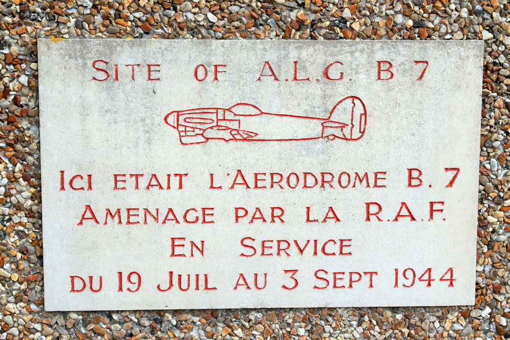 Monument ALG B7 Normandy