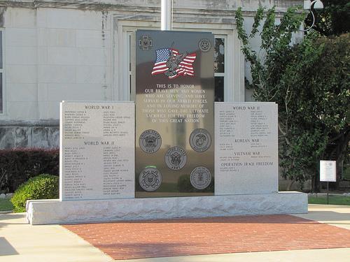 War Memorial Marshall County