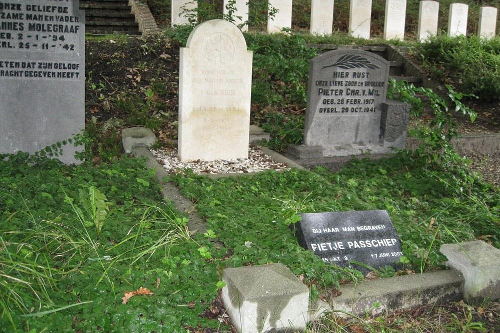 Nederlandse Oorlogsgraven Algemene Begraafplaats Noordwijk