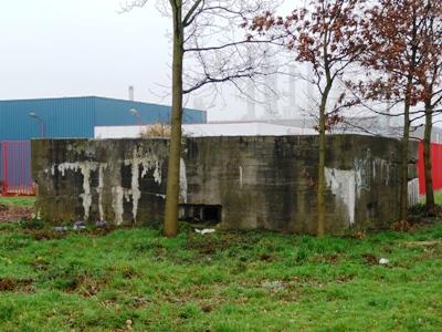 Duitse MG Bunker Keulsekade