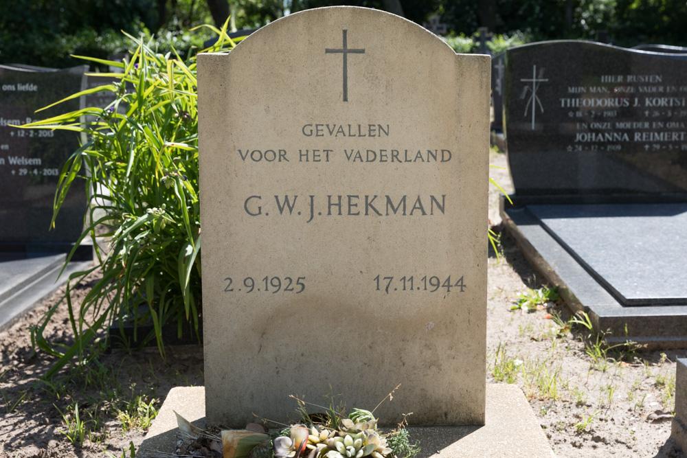 Nederlands Oorlogsgraf RK Begraafplaats Heino