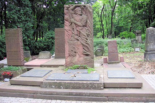 Monument Warschau Getto Opstand
