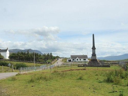 War Memorial Achiltibuie