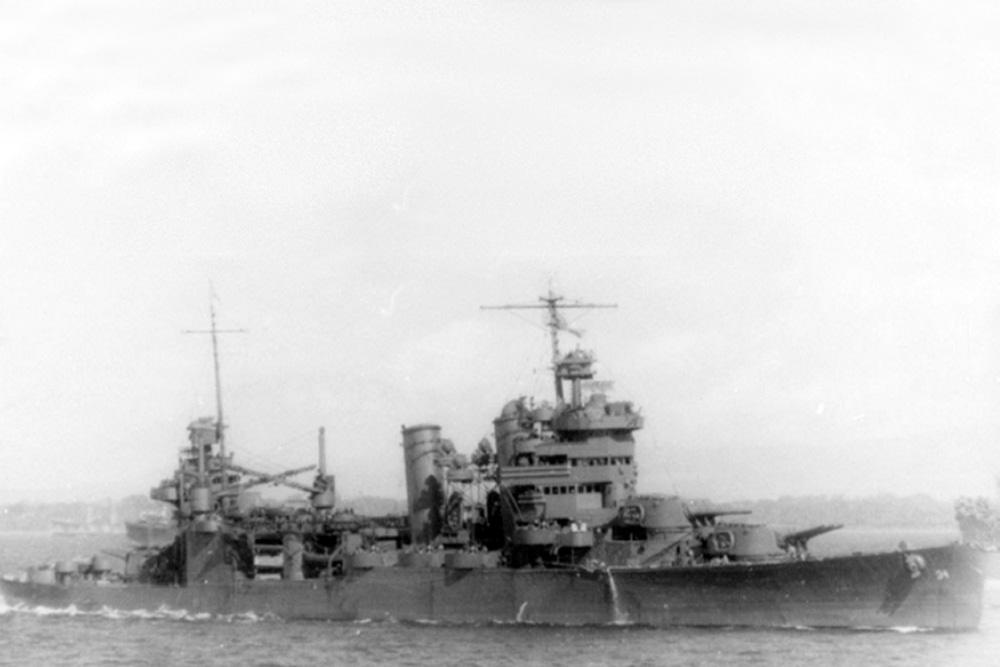 Scheepswrak USS Astoria (CA-34)