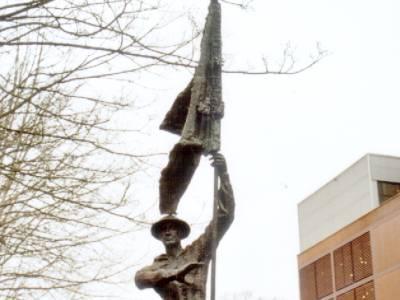 Monument De Vaandeldrager Tilburg