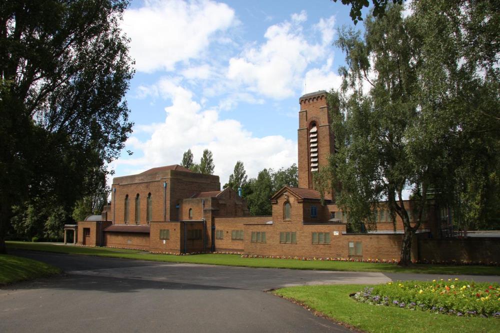 Monument Birmingham Municipal Crematorium