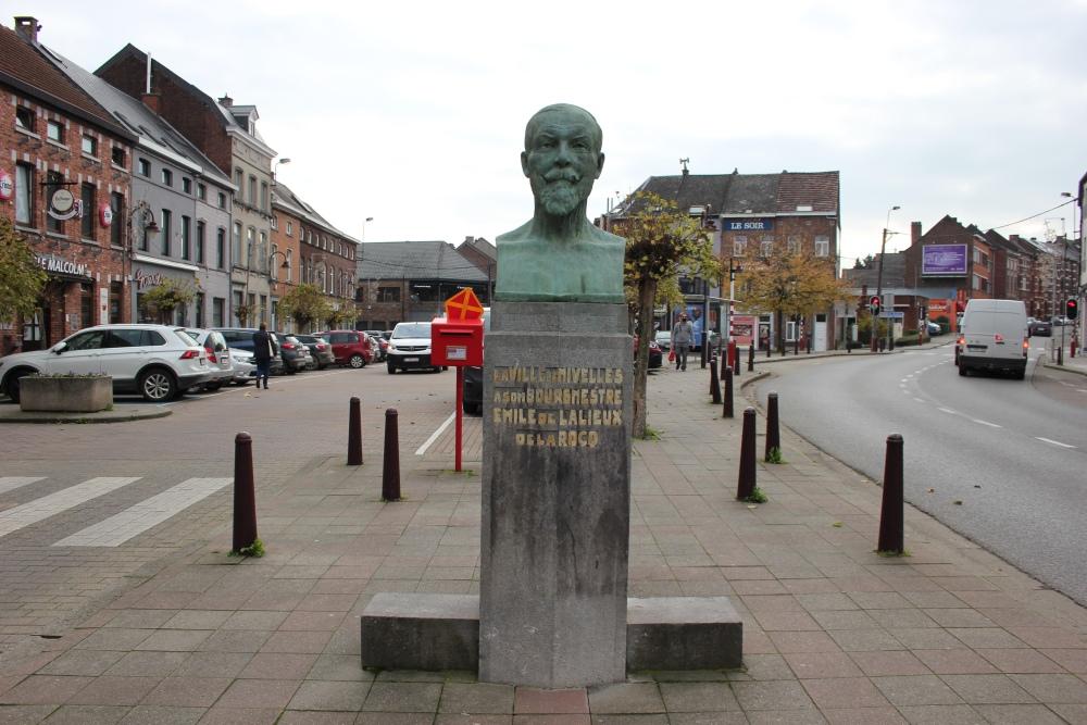 Bust Emile de Lalieux de la Rocq Deportee Nivelles