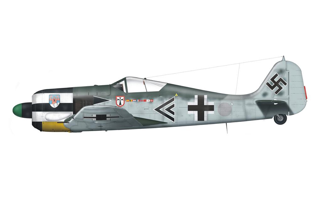Crash Site Focke Wulf-Fw 190A-4 5616