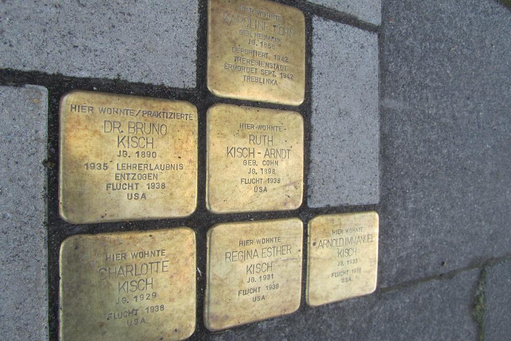Stumbling Stones Kaesenstraße 19