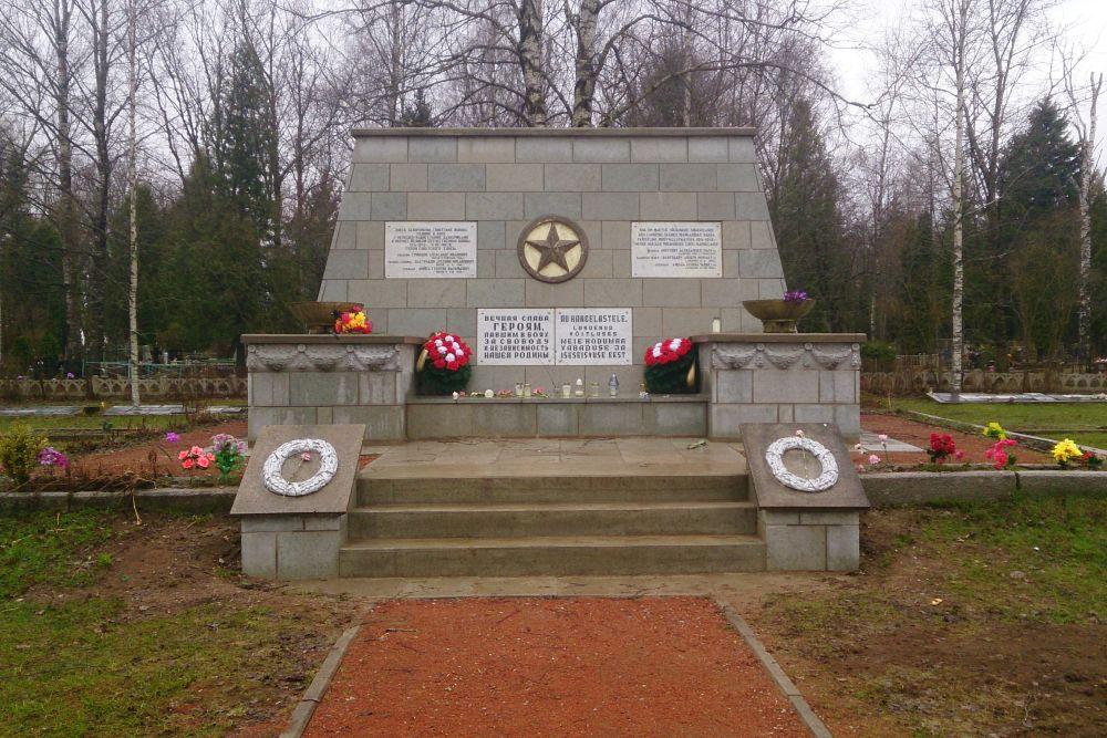 Mass Graves Soviet Soldiers Sinimäe