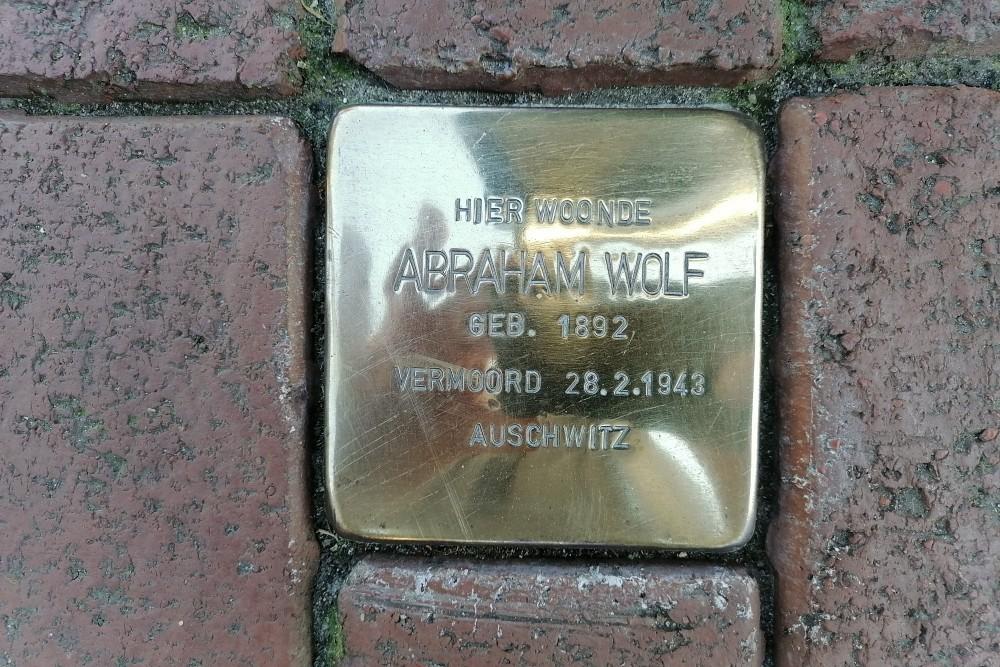 Stolperstein Woldstraat 6