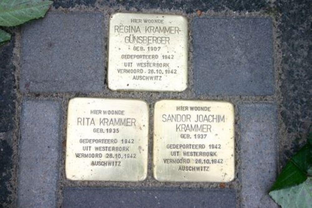 Stolpersteine Wassenberghstraat 53 B