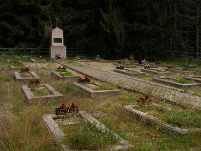 Partisan War Cemetery Tlstý Javor