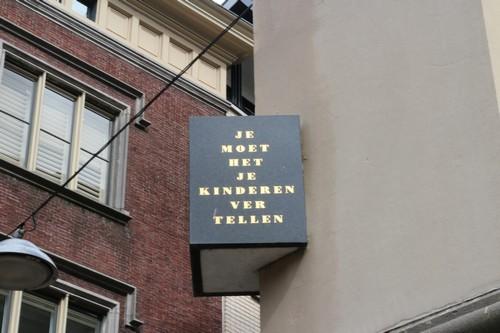 Joods Monument op Stadhuis Dordrecht