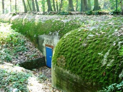 German SK1 Commando bunker Wilrijk