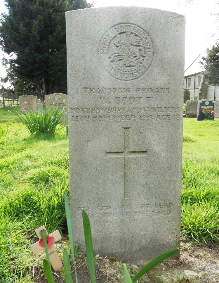 Commonwealth War Grave Christ Church Churchyard