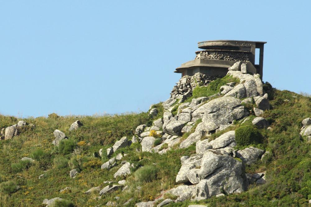 Fire Control Bunker Batería J-4 Cabo Silleiro