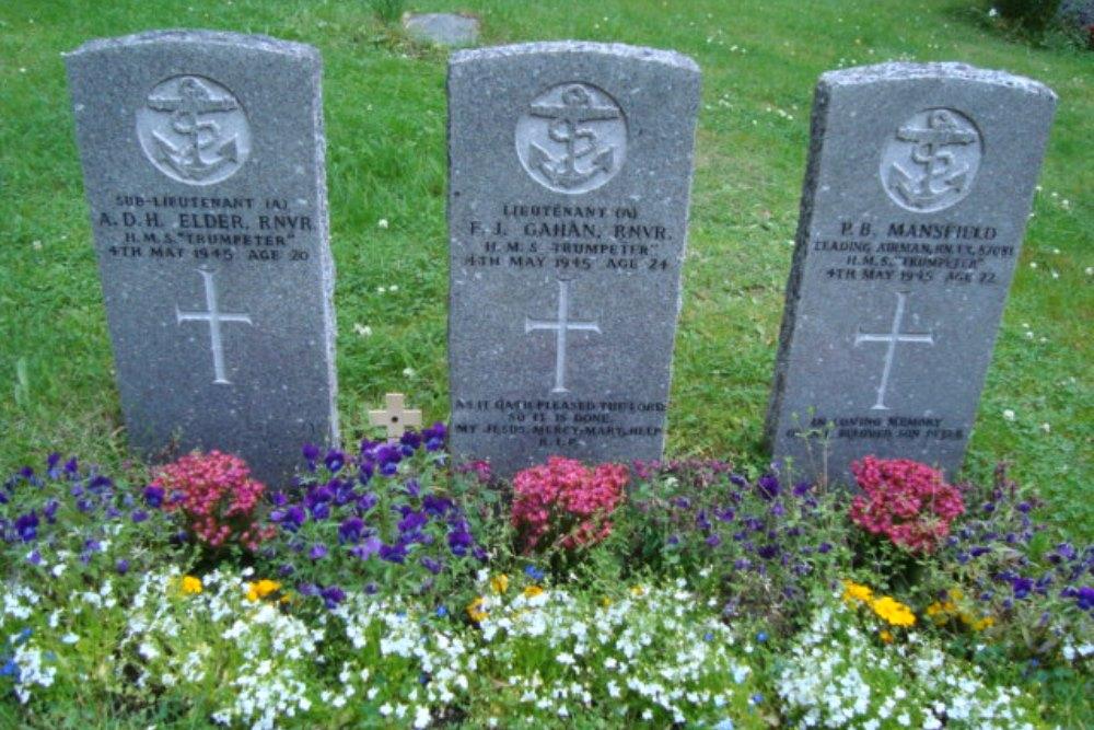 Oorlogsgraven van het Gemenebest Kerkhof Sorvik