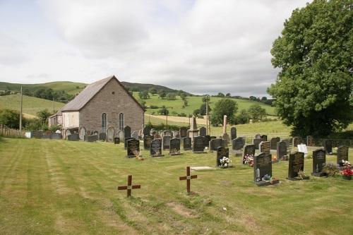 Commonwealth War Graves Rhiwyale Calvinistic Methodist Chapelyard