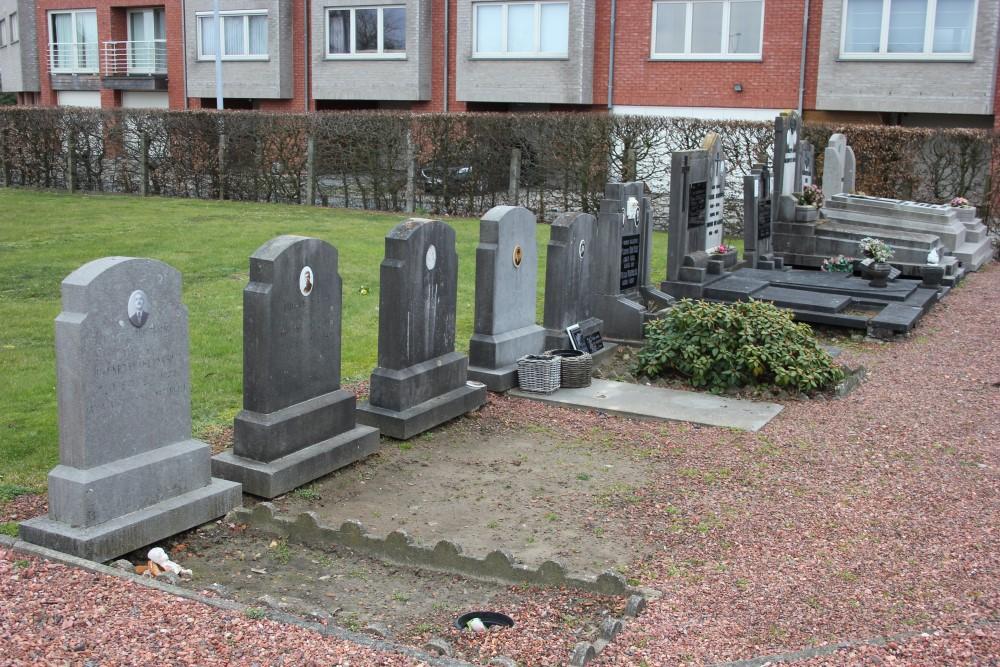 Belgische Oorlogsgraven Baasrode