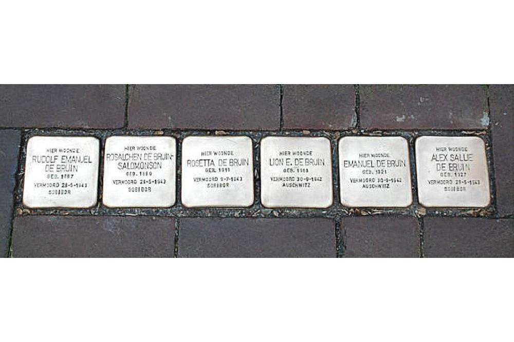Stumbling Stones Voorstraat 8-10