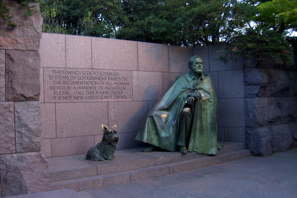 President Franklin Delano Roosevelt Memorial