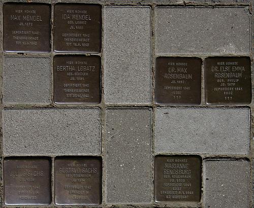 Stumbling Stones Hammer Landstraße 59