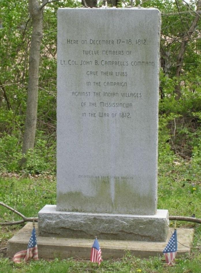 Monument Slag van de Mississinewa