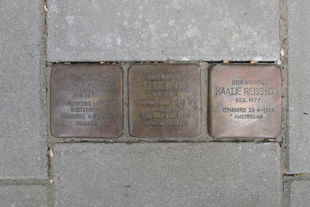 Remembrance Stones Jekerstraat 14-III