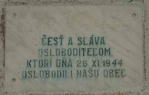 Bevrijdingsplaquette Bodružal