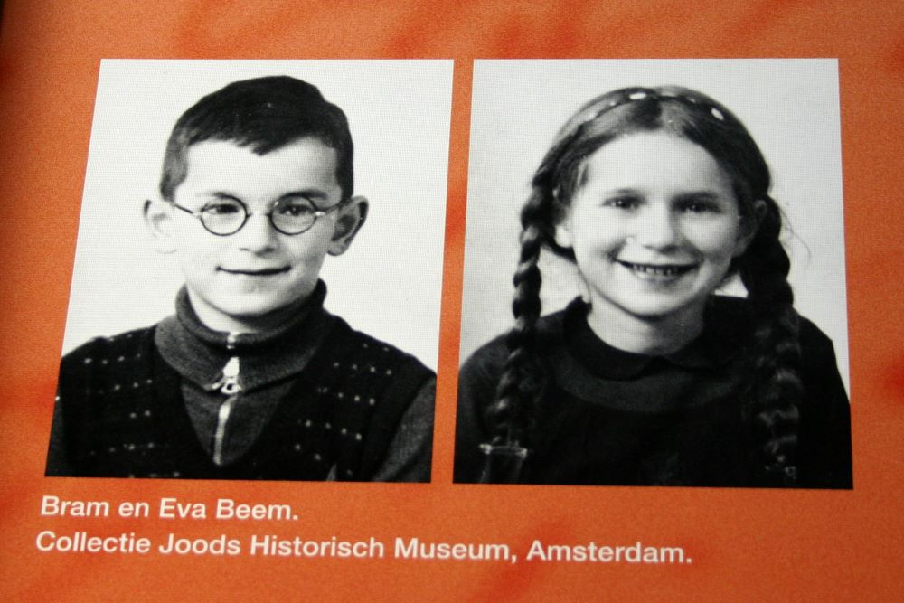 Monument Bram en Eva Beem