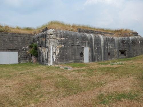 Atlantikwall - Fort Nieulay (Stützpunkt Glan)