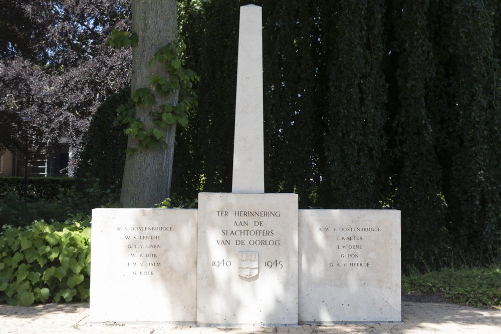 War Memorial IJsselmuiden