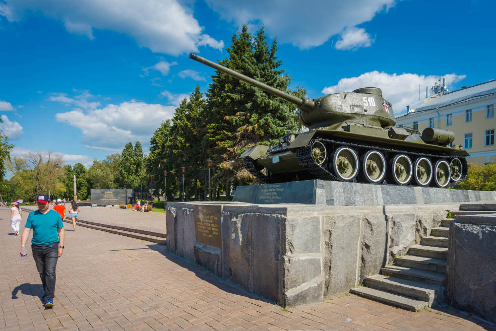 T-34/85 Tank Nizhny Novgorod Kremlin