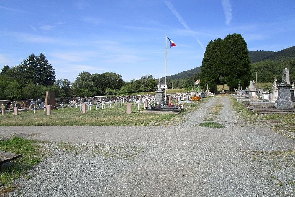 Frech War Graves Giromagny General Cemetery
