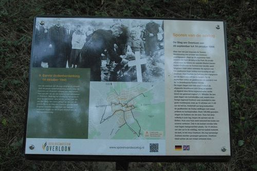 Traces of War Overloon: 9. First Remembrance Day 14 October 1945
