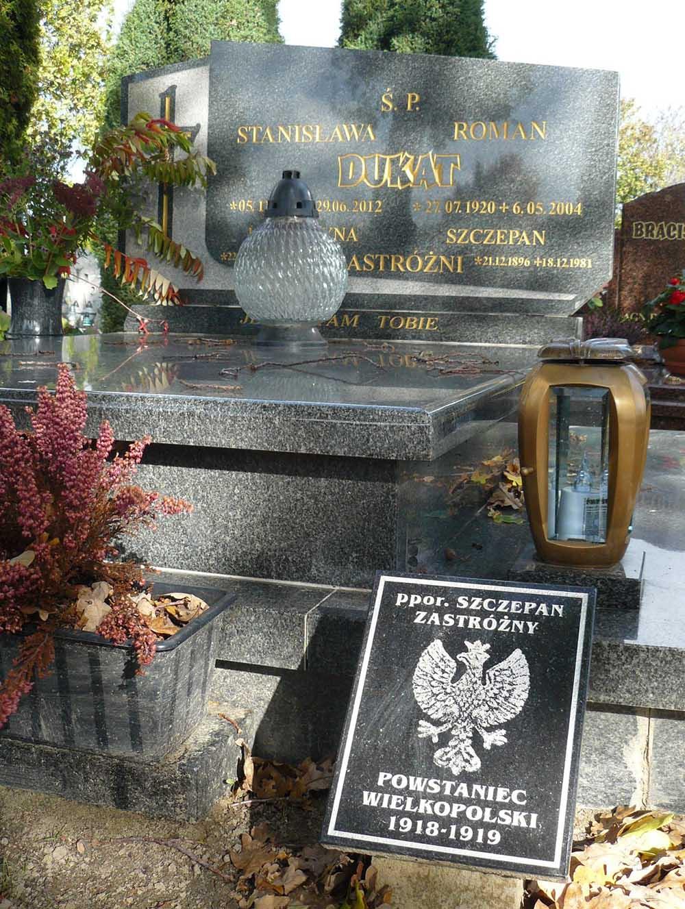 Graf Oorlogsveteraan Rokietnica
