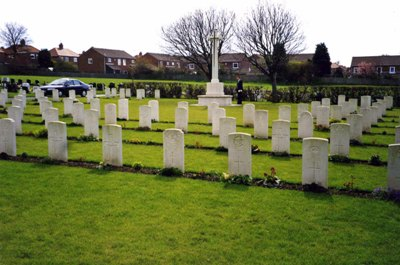 Commonwealth War Graves Harton Cemetery