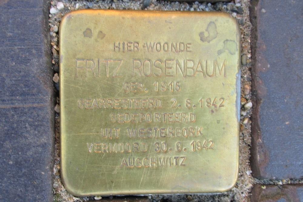 Stumbling Stone Wilhelminaweg 77,