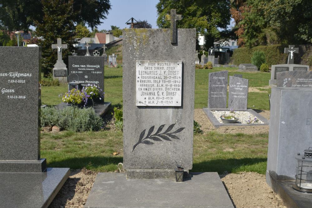 Nederlands Oorlogsgraf Rooms Katholieke Begraafplaats St. Antonius-Abt