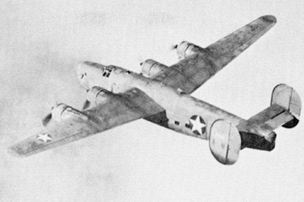 Crash Site Consolidated C-87 Liberator Express 41-11706