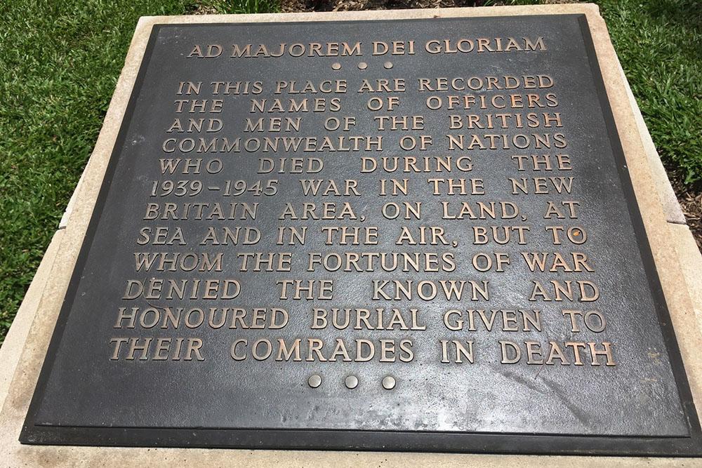 Monument Vermisten van het Gemenebest Rabaul