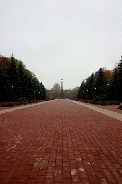 Russische Erebegraafplaats Koersk